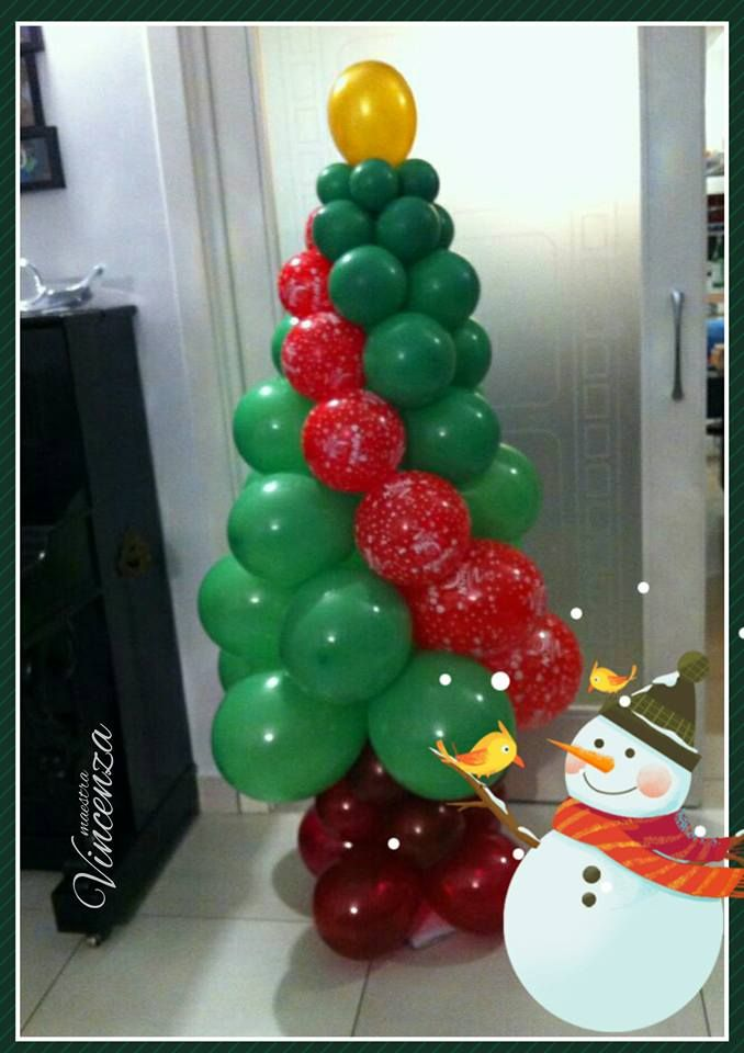 Balloonart - Albero di Natale con palloncini