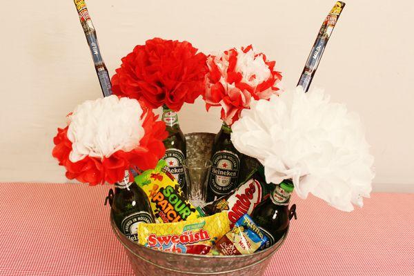 diy valentine gift ideas for him the man bouquet. Black Bedroom Furniture Sets. Home Design Ideas