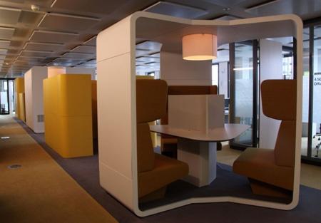 Miejsce do dyskusji w biurze