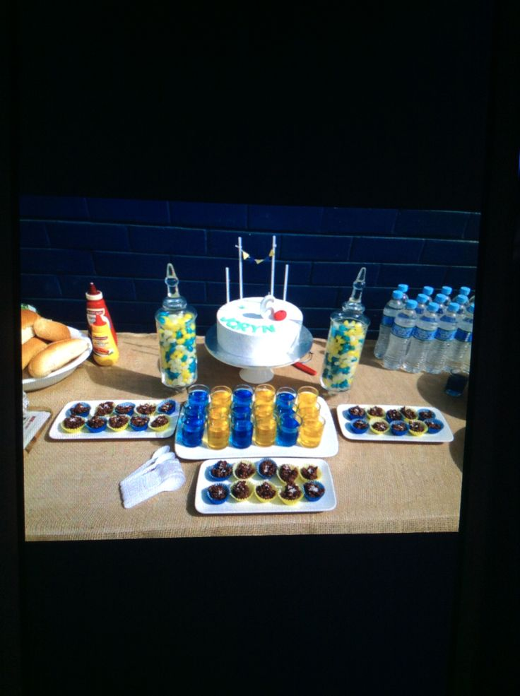 Joryn's 6th Birthday Party. West Coast Eagles party by his request.