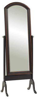 standing black floor mirror - mediterranean - mirrors - miami - by GoldenageUSA
