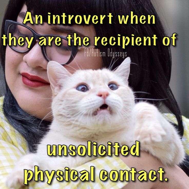 An introverts face.....