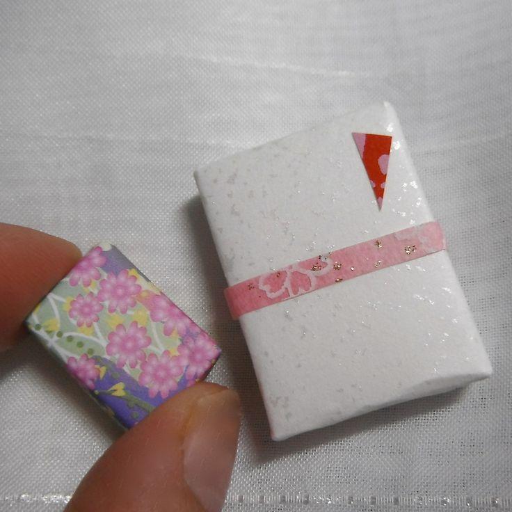 和菓子(が入っているみたいな) ちっちゃいお土産・・・♡
