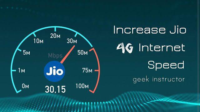 How to Increase Jio 4G Internet Speed: 10 Tricks