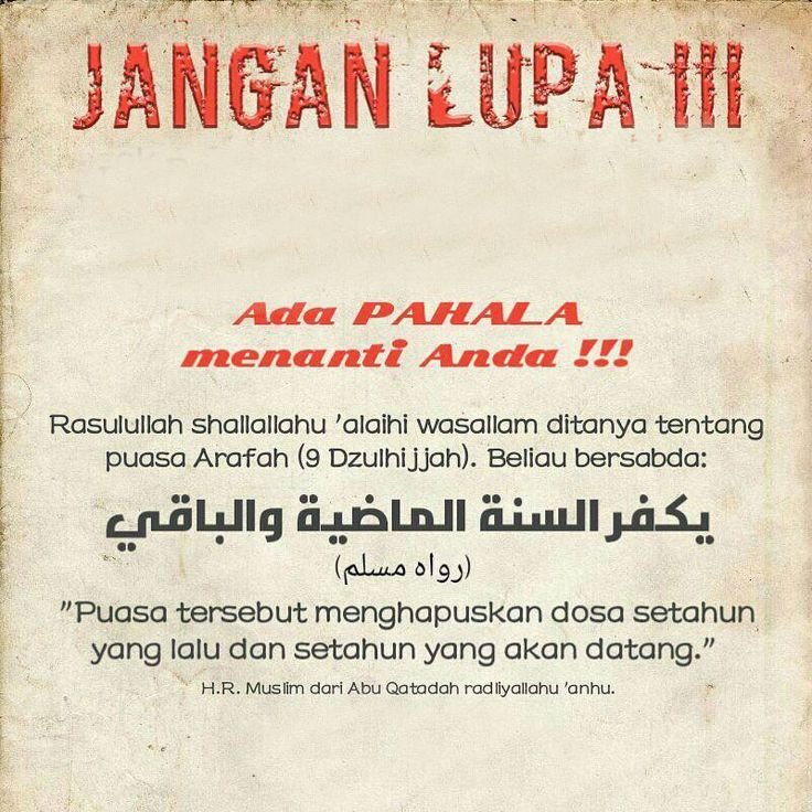 http://nasihatsahabat.com #nasihatsahabat #salafiyah #muslimah #DakwahSalaf # #ManhajSalaf #Alhaq #islam #annajiyah #ahlussunnah #dakwahsunnah#kajiansalaf #salafy #sunnah #tauhid #dakwahtauhid #alquran #hadist #hadits #Kajiansalaf #kajiansunnah #sunnah #aqidah #akidah #mutiarasunnah #tafsir #nasihatulama ##fatwaulama #akhlaq #akhlak #keutamaan #fadhilah #fadilah #shohih #shahih #manhajsalaf #puasa #shaum #Arafah #Arofah #reminder