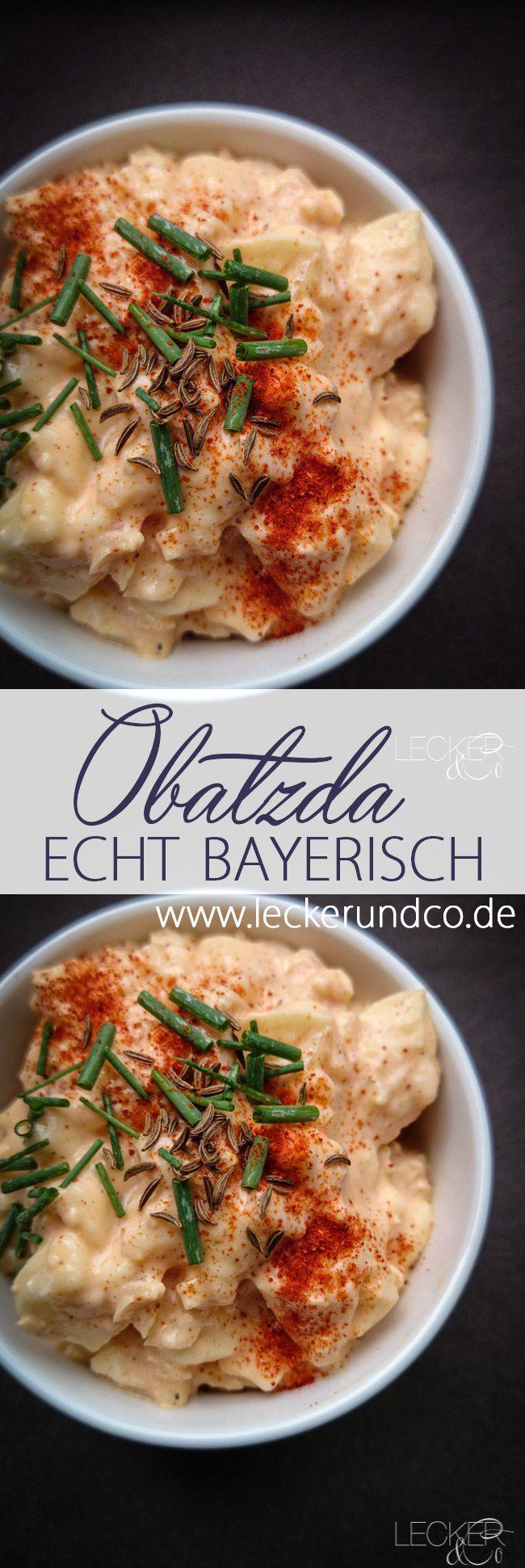 Obatzda nach Bayerischem Originalrezept