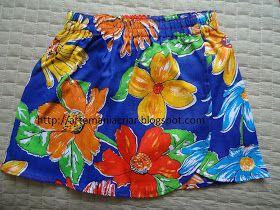 S arongue  é uma espécie de saiote havaiano que cobre a parte inferior do tronco. Use com um bustiê, um colar de flores e uma flor também n...