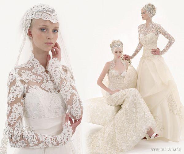 love this headpiece #wedding #headpiece #lace