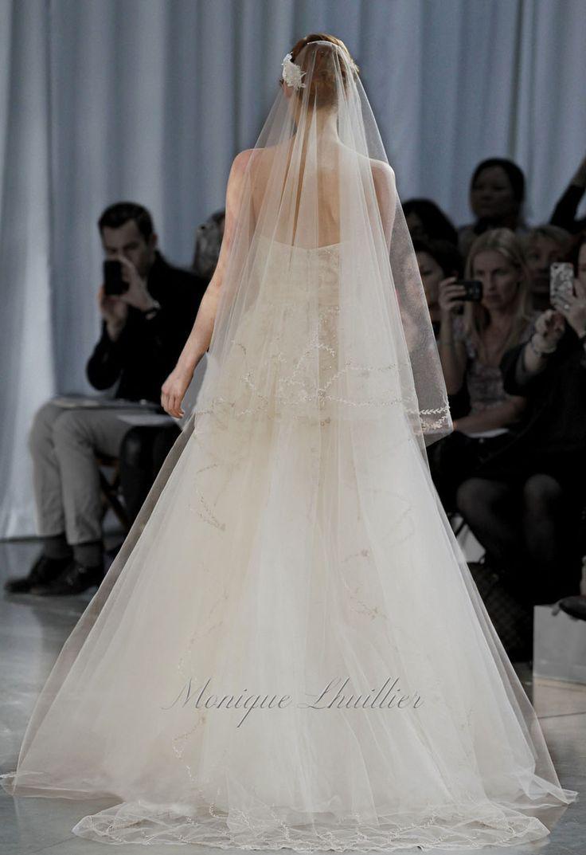 44 best Monique Lhuillier images on Pinterest   Wedding frocks ...