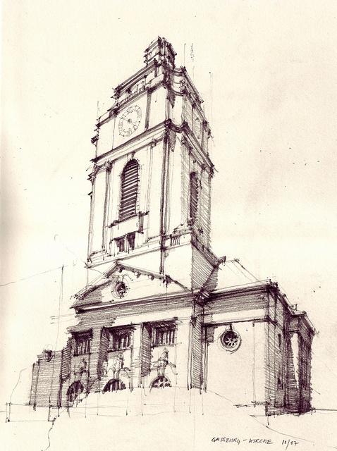 Gaisburg Kirche, 2007