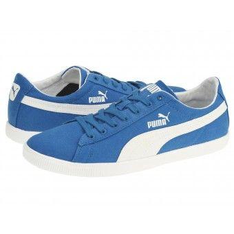 Pantofi sport unisex Puma Glyde Lite Low blue-white