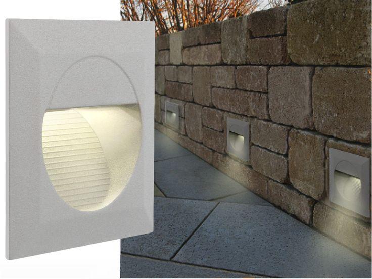 Best LED Wandeinbauleuchte Treppenleuchte Lichtfarbe warmwei