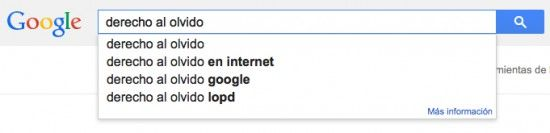 Google y el derecho al olvido. La importancia de la reputación online...