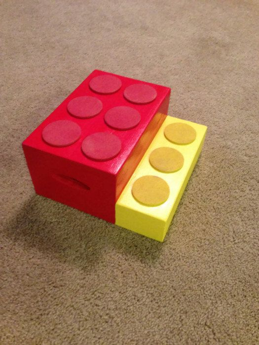 Step Stool for Kids Childs Step Stool Red by WooderfulCreations
