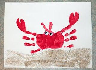 handprint lobster 59 x