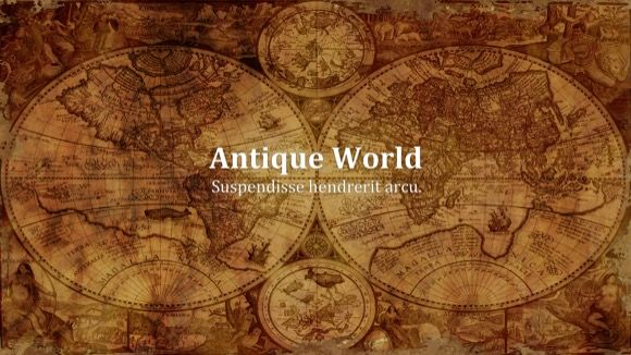 Antique World Powerpoint Theme Free Powerpoint Themes Ancient World History Powerpoint