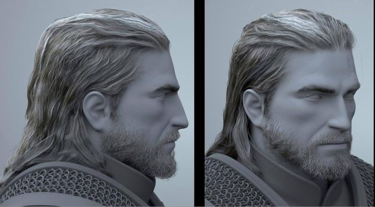 Witcher 3 Hair Styles: Geralt From The Witcher. His Beard And Hair Are So Life