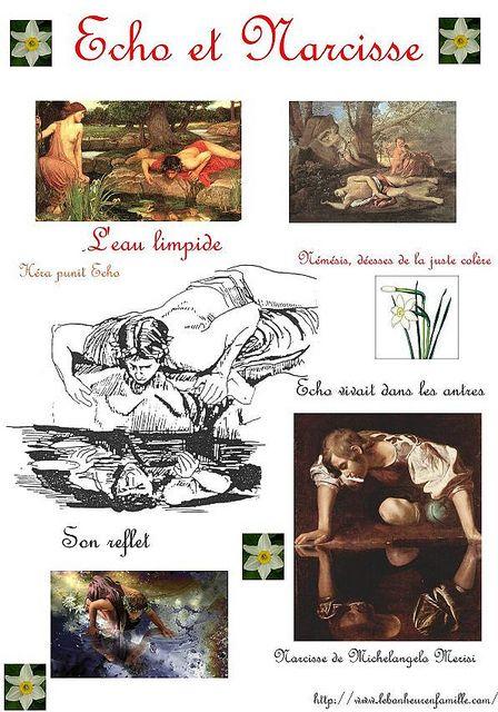 Mythe grec...Echo et Narcisse...