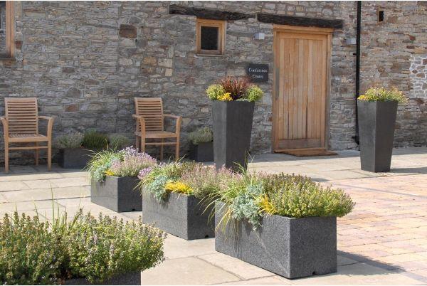 IOTA's Granite planters at Rolls-Royce plc corporate hospitality venue
