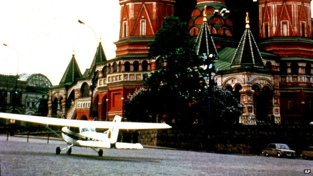 In 1987 a West German teenager shocked the world, by flying through Soviet air defences to land a Cessna aeroplane in Red Square. He was jailed for more than a year - but a quarter of a century later, he has no regrets.