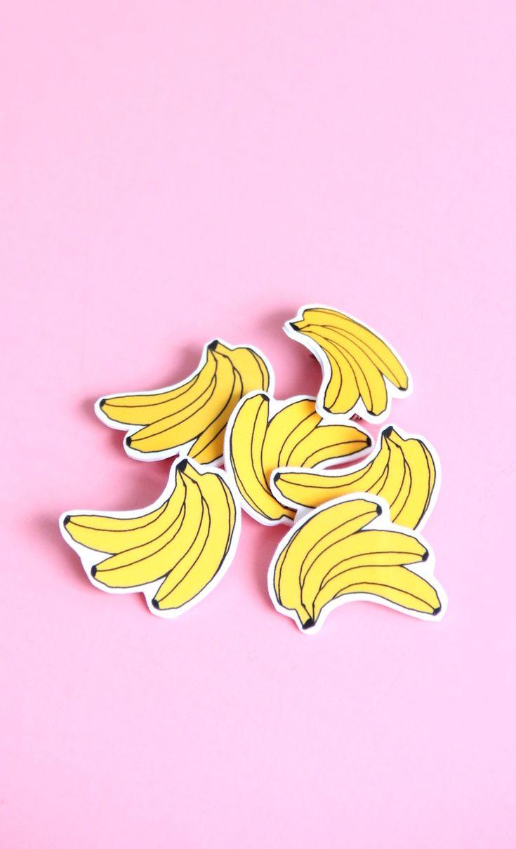 DIY banana pins! | And We Play