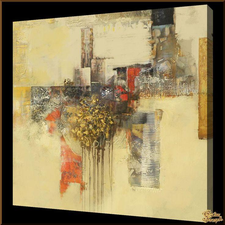 Abstract - 558 Абстракция, картины, картина маслом, сувенир, подарки