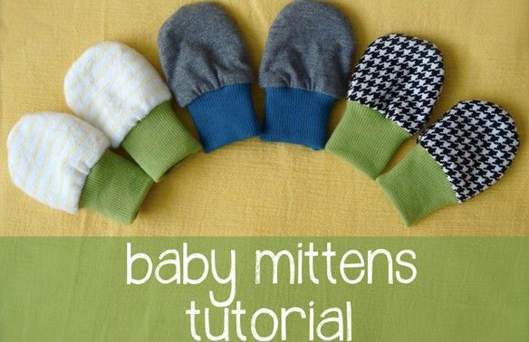 DIY – babywantjes naaien