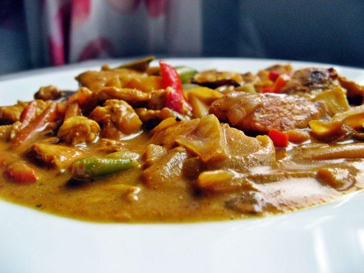 Feel Eat!: Curry z kurczaka z warzywami