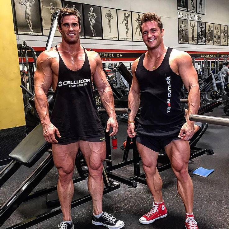 Photo of Calum von Moger & his friend
