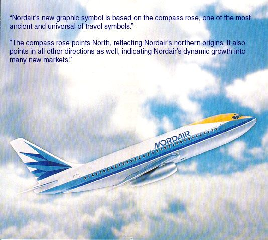 Nordair new livery launch