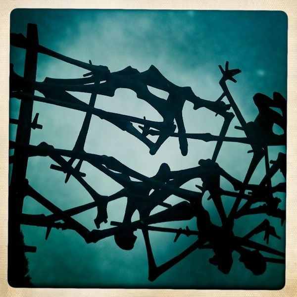 Dachau Memorial, Germany  That place gave me the creeps, but I'm glad that I have been there and understand what happened there.