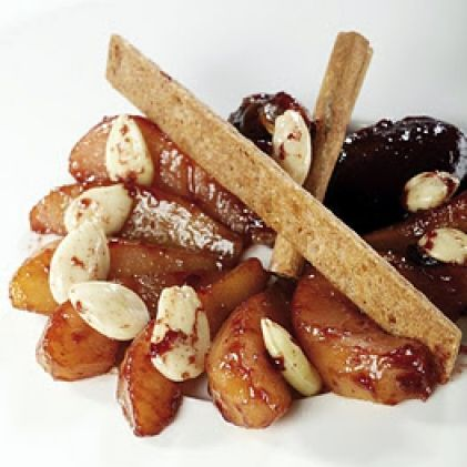 Fried Cinnamon and Almond Pears by ActiFry