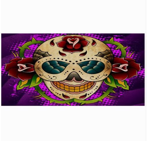 Now available in our store Sugar Skull Beach.... Check it out here! http://everythingskull.com/products/sugar-skull-beach-towel-fashion-bath-towels-100-bamboo-fiber-swimming-towel-2?utm_campaign=social_autopilot&utm_source=pin&utm_medium=pin