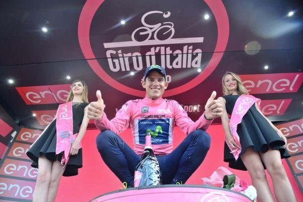 Tour d'Italie - #13 : Nieve sauve Sky, Amador marque l'histoire en rose - Première véritable journée en montagne, dans les Dolomites, la treizième étape du Tour d'Italie a permis aux spécialistes de l'offensive de se démarquer. Si des coureurs déjà largués au classement général ont pu tenter leur chance, à l'image de l'Espagnol Mikel Nieve (Sky) qui a tenu en solitaire dans les vingt de