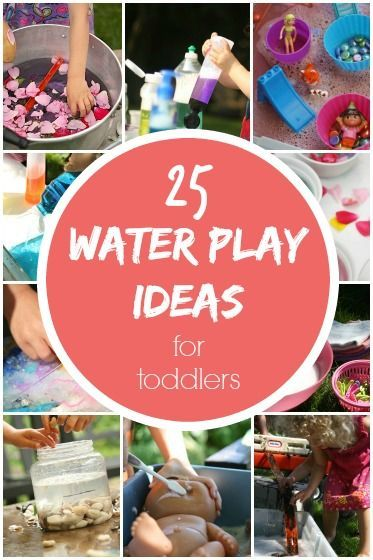 25 Backyard Water Play Activities for Kids: keep your toddlers and preschoolers busy and entertained all summer long with these awesome activities!