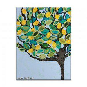 Lemons Canvas