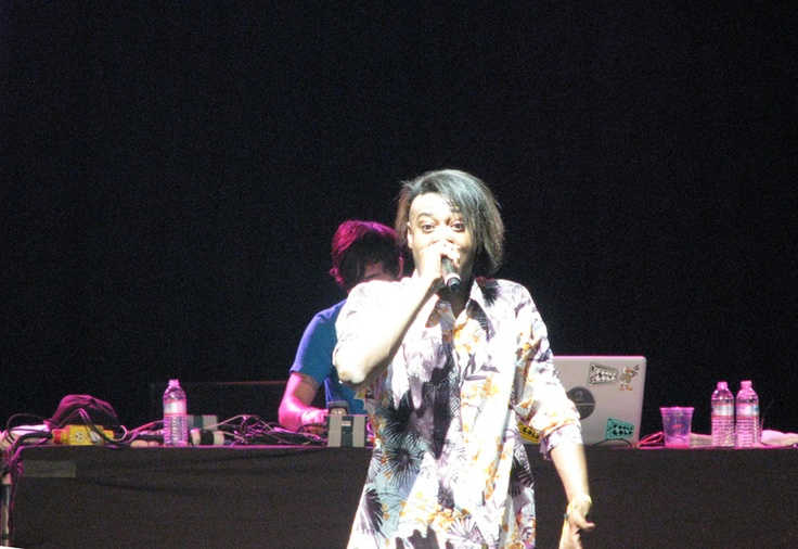 Danny Brown put on a crazy performance at this year's Bonnaroo.