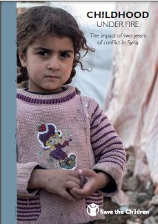 Syrian refugee children are under constant risk of malnutrition, disease and trauma as the two-year Syrian conflict continues