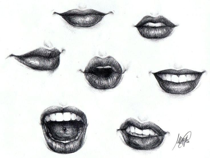 Lips by ~maga-a7x on deviantART