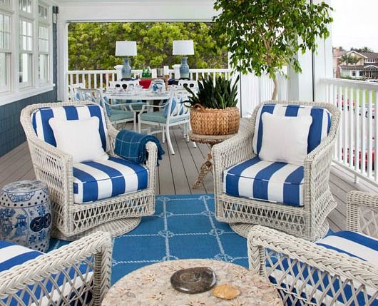 Blue Beach Rugs For Outdoor Living Verandahs Porches