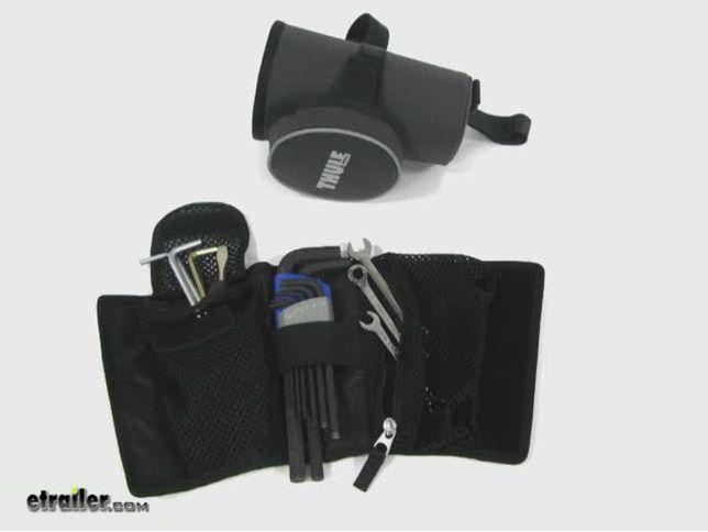 Thule Pack 'n Pedal Underseat Storage Bag for Bike Tools Thule Bike Accessories TH100013