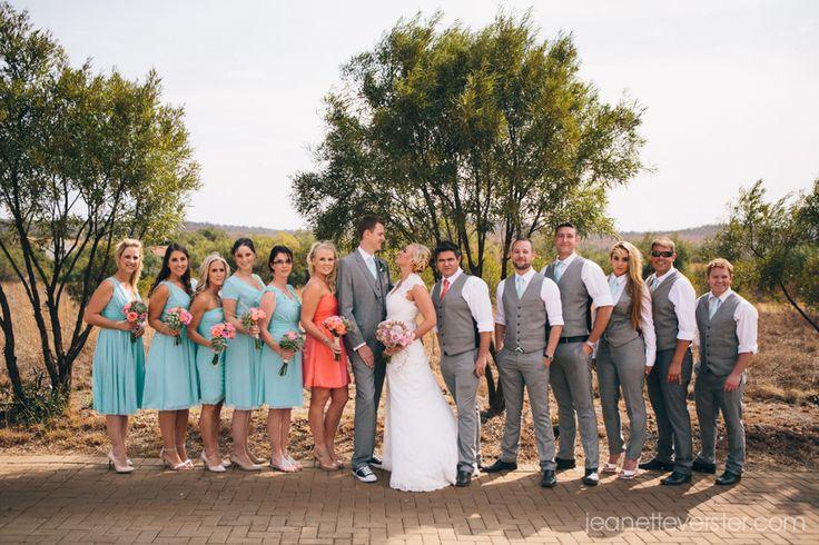 #GingerGooseWedding bridal party