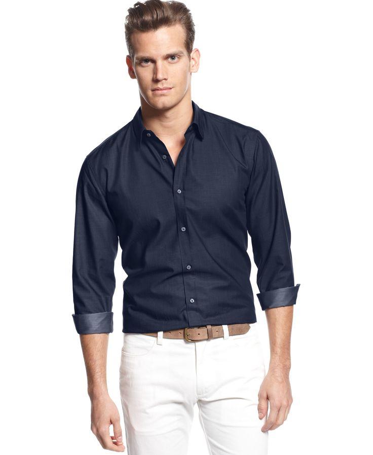 Boss hugo boss ronny slim fit shirt products pinterest for Hugo boss slim fit dress shirt