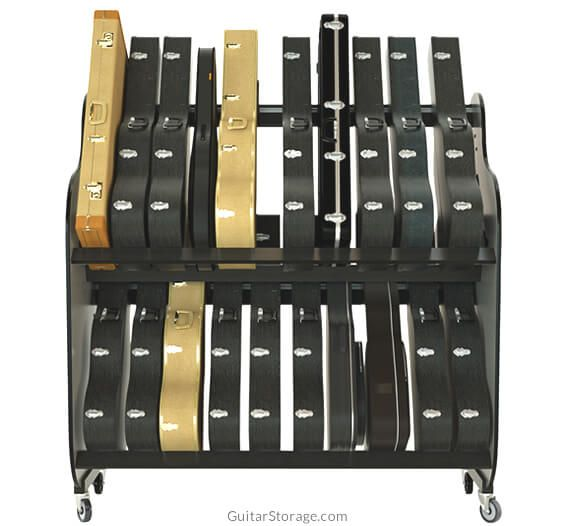 Guitar Storage Rack - Home Design Ideas and Pictures