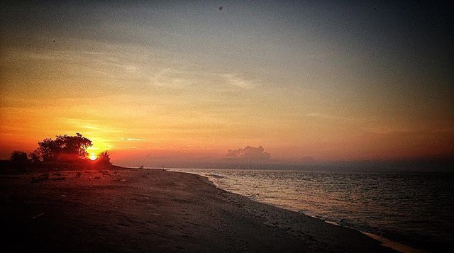 Sunset at Walakiri Beach. #sumba #sunset #wanderlust #instatravel #instasunset #yellow #beachlife #beach #dusk #nusatenggaratimur #indonesia #sea