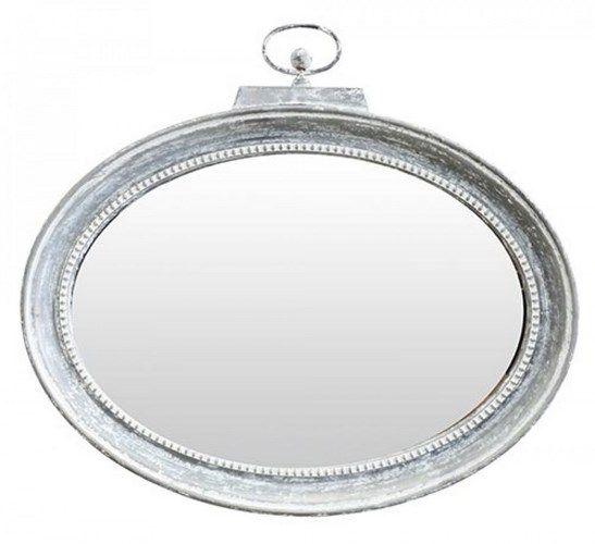 Orlo Oval Metal Wall Mirror $299.95