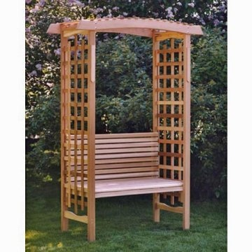 Arbor With Bench For The Home Pinterest