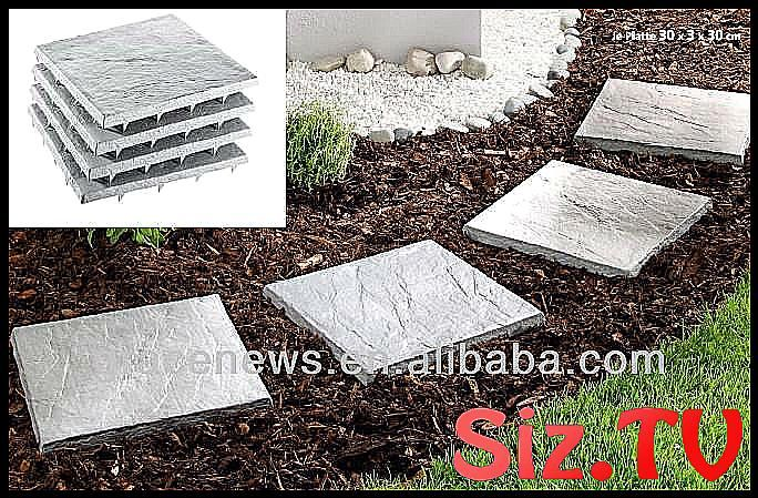 Garden path stones with Stakes View cheap driveway paving stone    Garden path s…