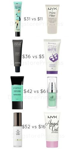 Face Primer Dupes for Your Skin! Not all face primers are created equal, but some have great, affordable dupes! Primer is a topic of conversation that I always see in my inbox, whether it's a dupe...