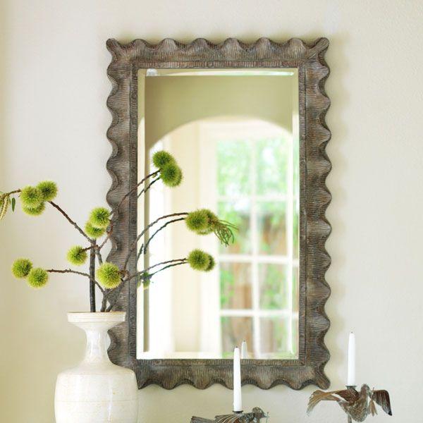 W3839Scallop Edge Mirror Mirrors